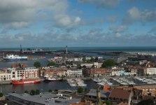 Dunkerque - vue depuis le Beffroi de Saint-Eloi